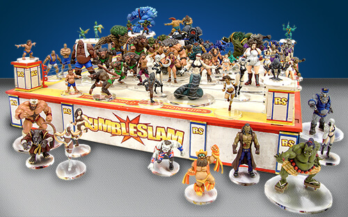 rumbleslam ring miniatures