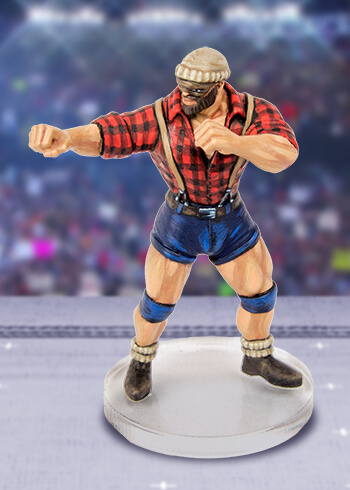 rumbleslam miniature lumberjacked