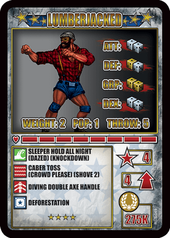 rumbleslam card lumberjacked