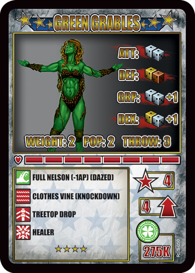 rumbleslam card green grables