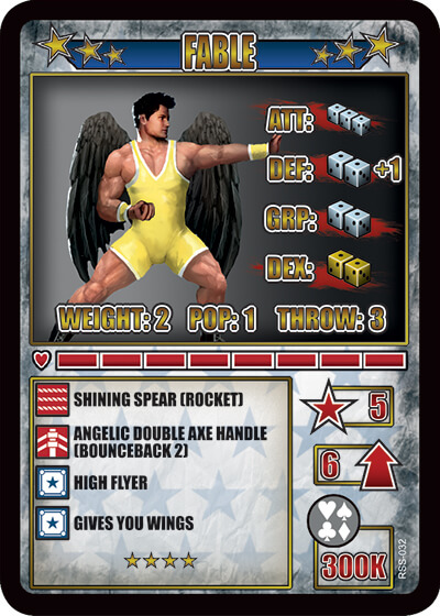 rumbleslam card fable free agents
