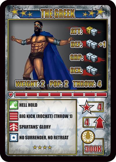 rumbleslam card greek kaisers palace