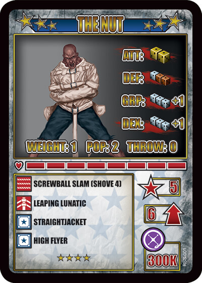 rumbleslam card nut gomorrah