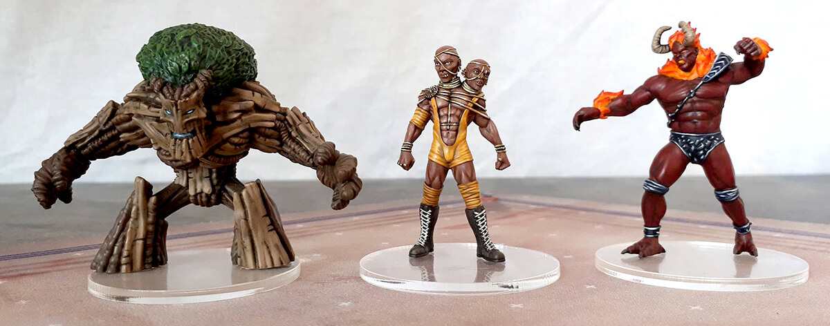 rumbleslam dicephaurux height miniature treeman mythos